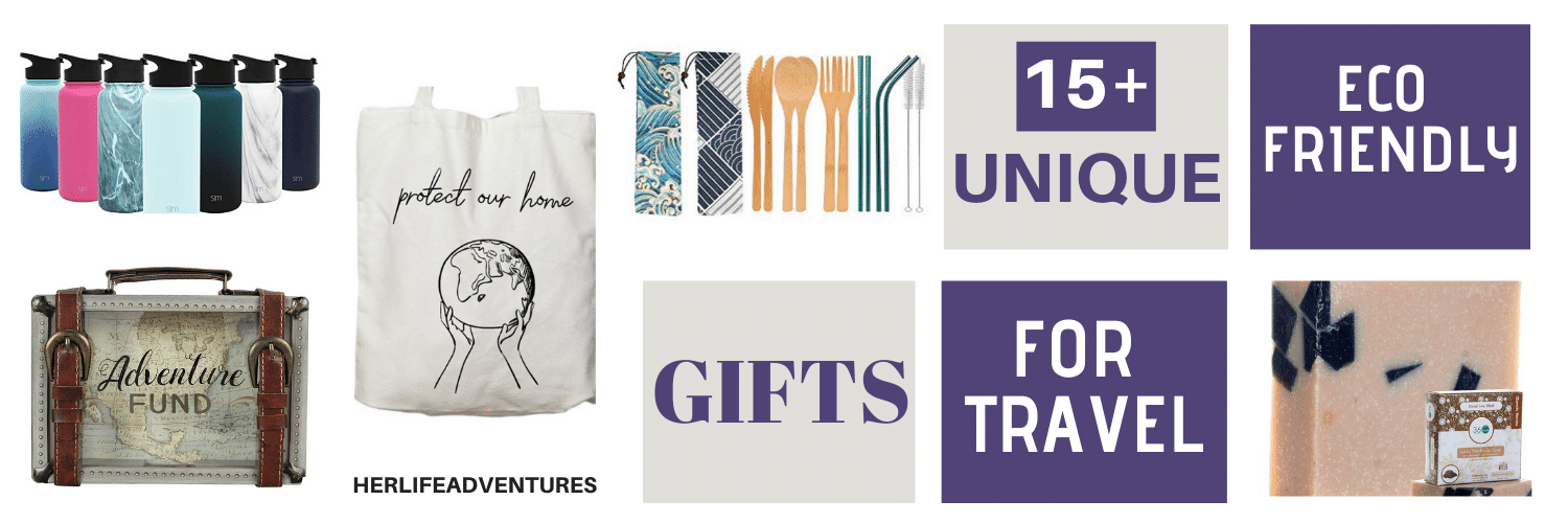15+ Unique Eco Friendly Gifts for Travel